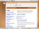 Captura de pantalla de Ubuntu 7.04