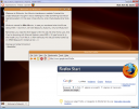 Wubuntu, captura de pantalla